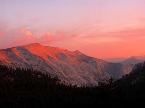 Alpenglow on Clouds Rest -...