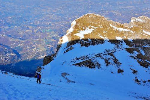Monte Camicia east ridge