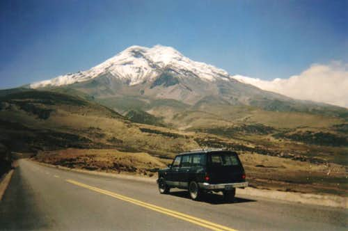 """en route"" to Chimborazo"