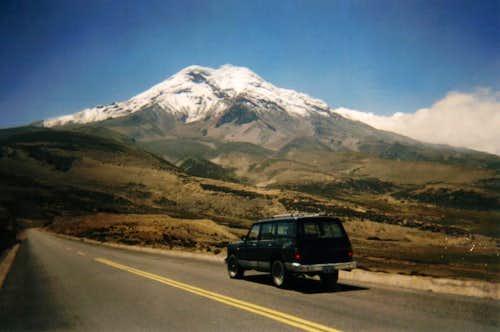 Whymper or Veintemilla summit ? (Chimborazo 2005)
