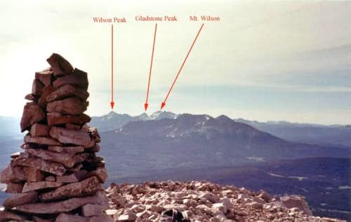 The Wilson\'s from the summit...