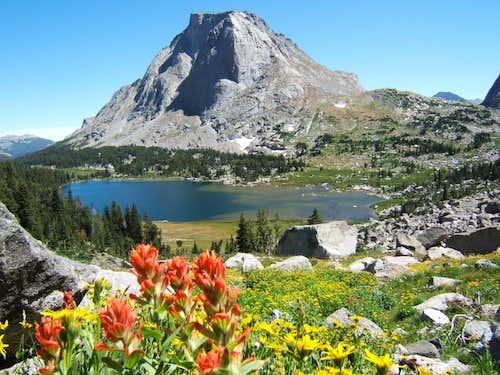 Mitchell Peak and Jackass Pass