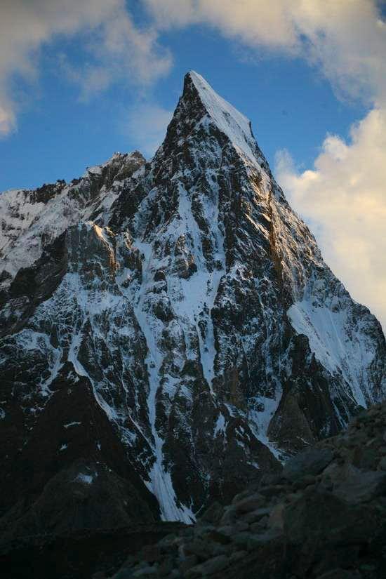 Mitre Peak, (6025m), Karakoram, Pakistan