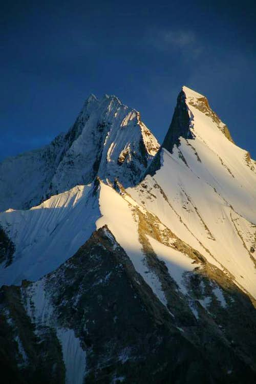Gasherbrum Twins (6912m & 6877m), Karakoram, Pakistan