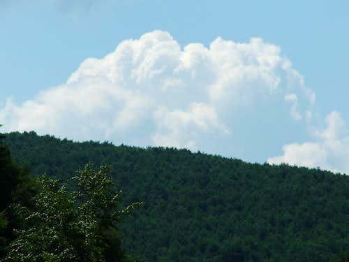 Clouds over the eastern-Bükk