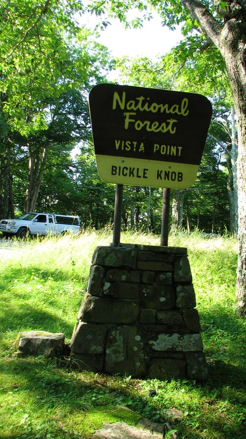 Bickle Knob Recreation Area
