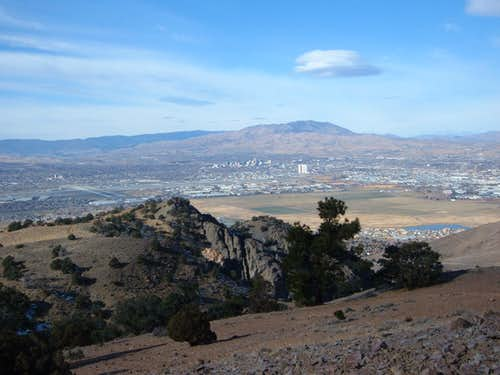 Peavine Peak and Reno