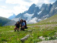 Tumbling Glacier - Rockwall Trail