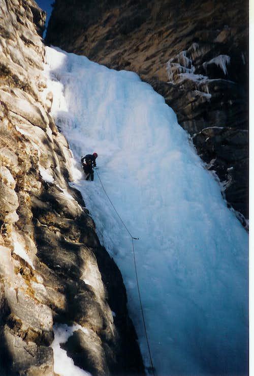 Upper Pitch of Kerkeslin Falls