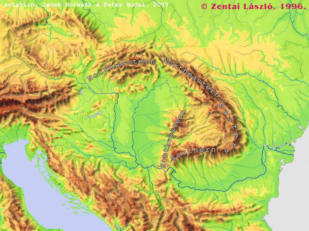 Where are the Carpathians 1