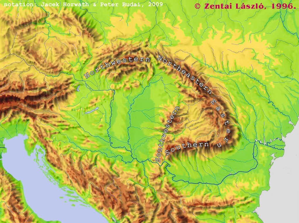The Carpathians and their neighbors