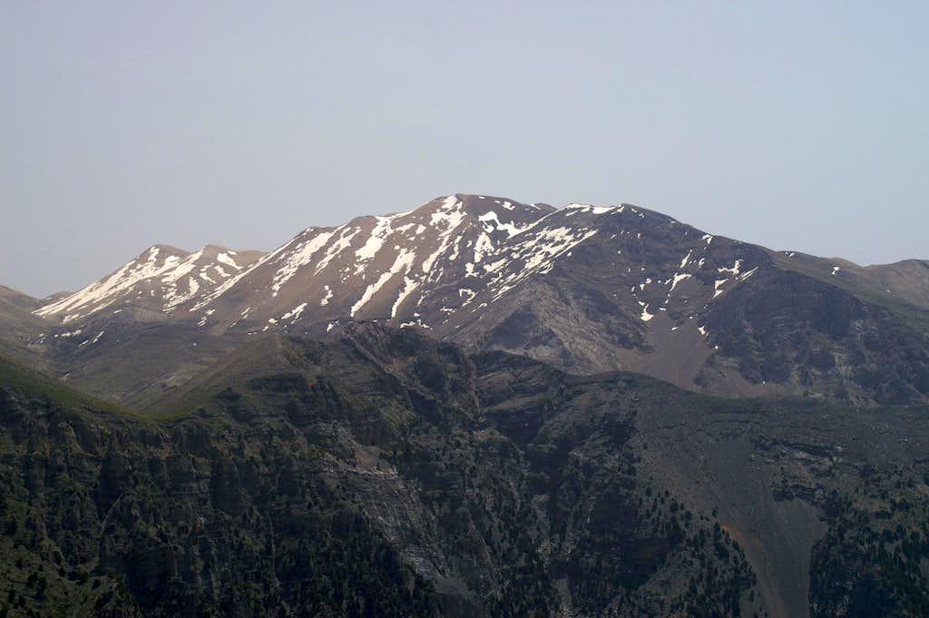 Kakovoli (2214m), Pachnes (2453m)