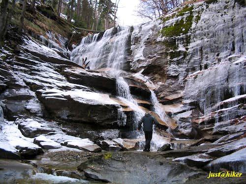 Kozice waterfall