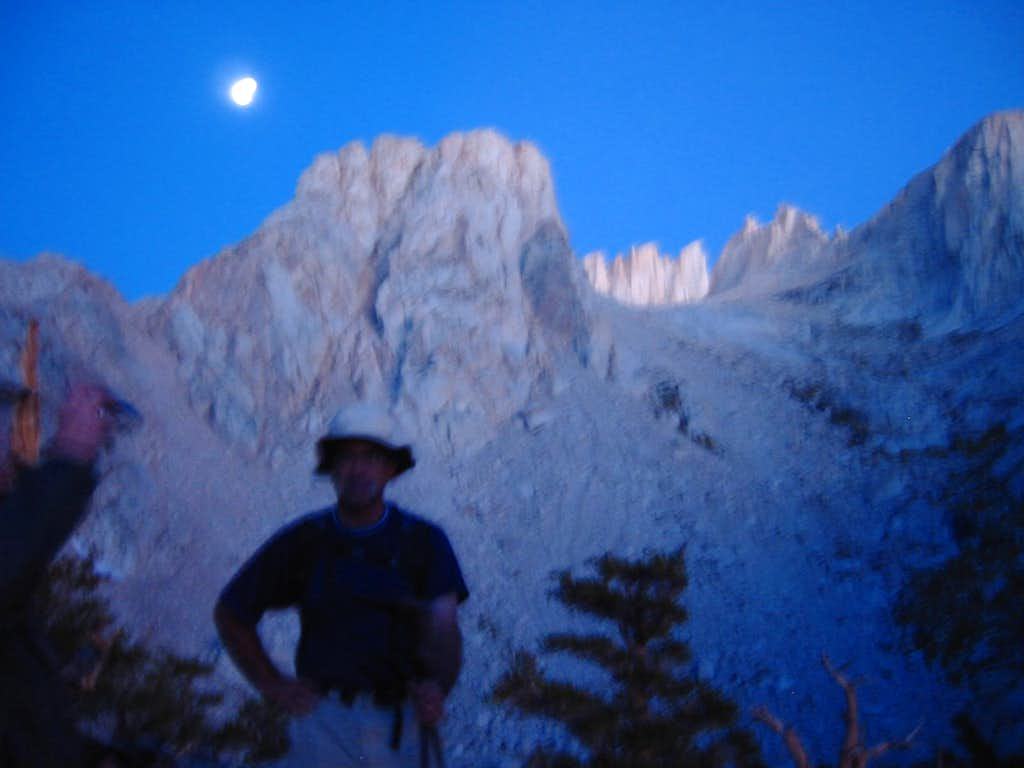 Mnt. Whitney, first glimps