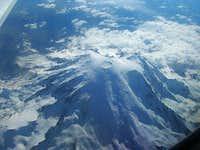 Mt Rainier (aerial view)