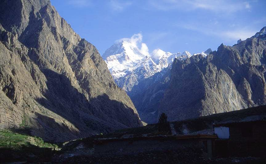 Masherbrum fom Hushe village