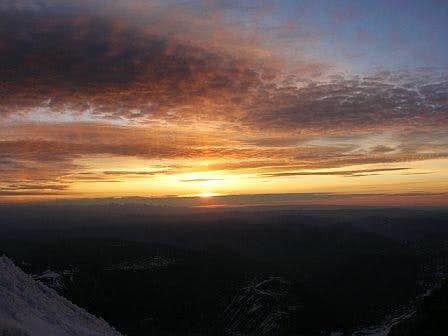 summit morning sunrise