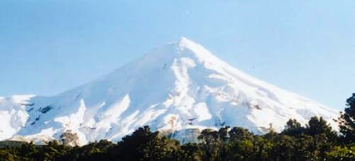 Mount egmont from the east...