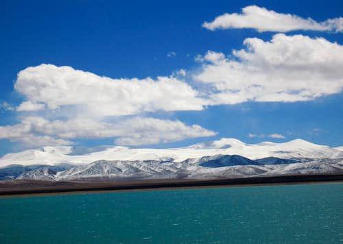 Puer Lake and whole range