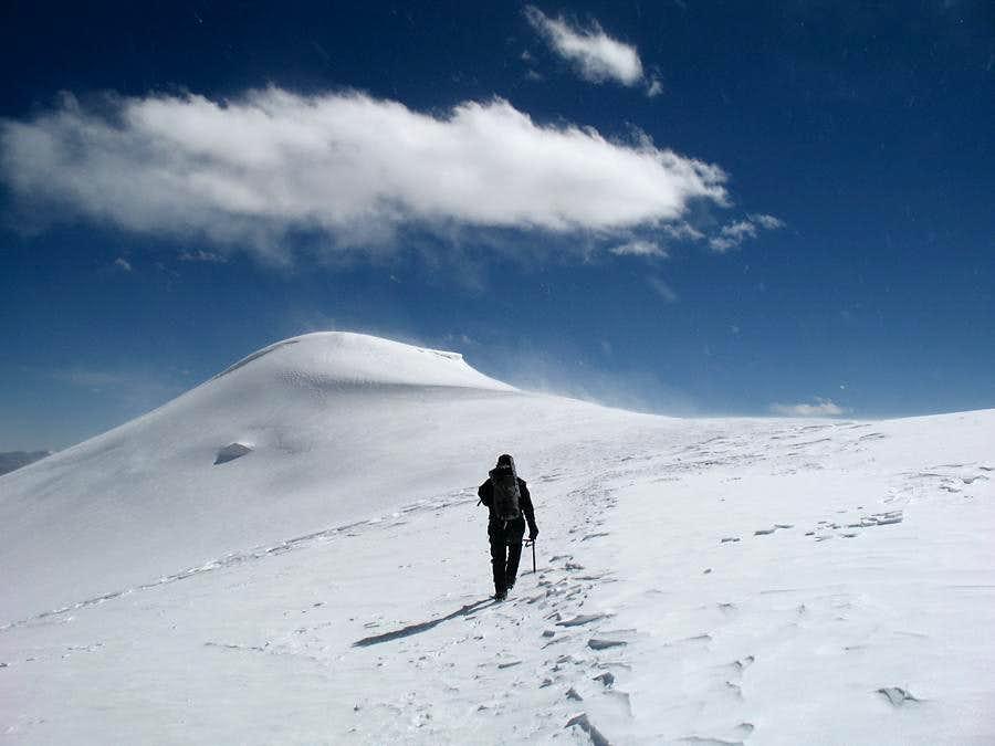 Soon on the summit