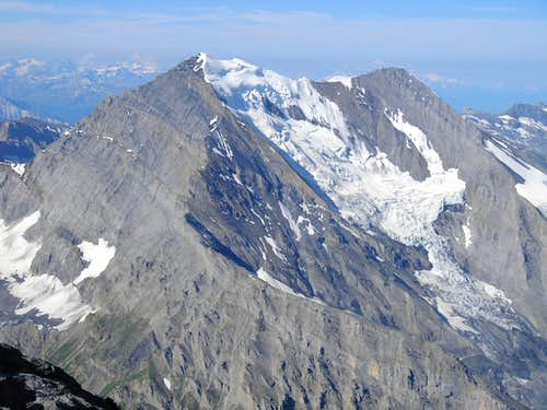 Balmhorn 3699m and Altels 3629m  (right)