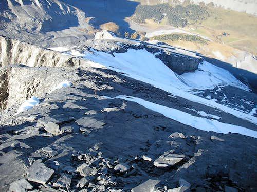 Altels 3629m north-west flank