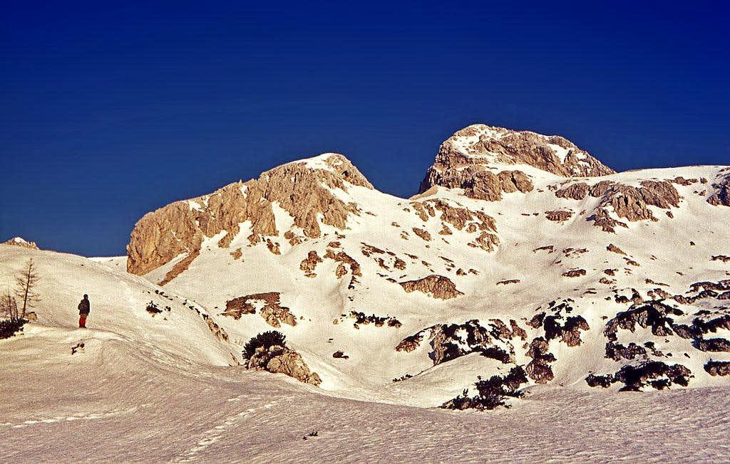 South slopes of Rjavina above...