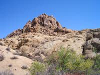 Looking towards Mastadon Peak