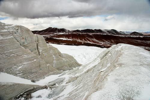 Toze Kangri glacier