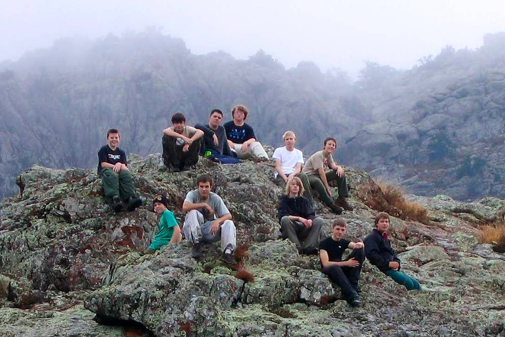 The Boys of the Crew and Elk Mountain