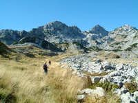 Vjetreno Brdo, one of Prenj's...