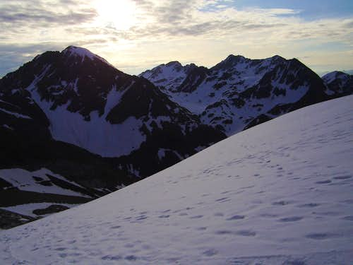 Dawn near the Renclusa hut