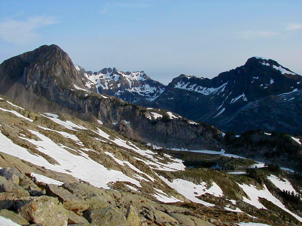 Maledeta ridge west