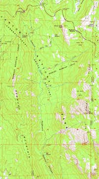 USGS Map of Redwood Canyon