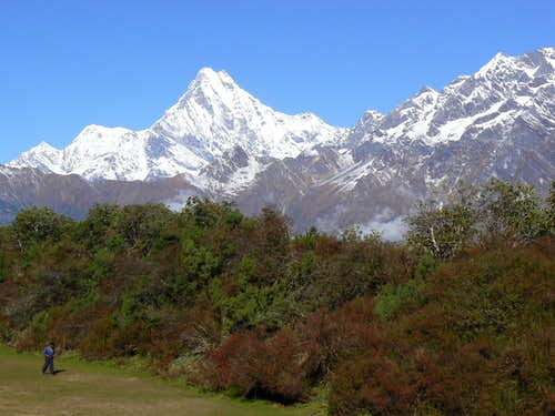 Machhapuchhare from The SE