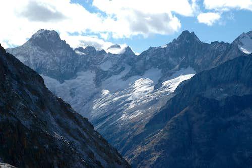 Glacier du Vallon des Etages