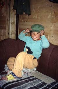 A Tibetan boy