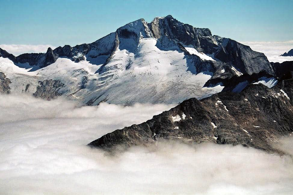Hochalmspitze from ascent to Ankogel