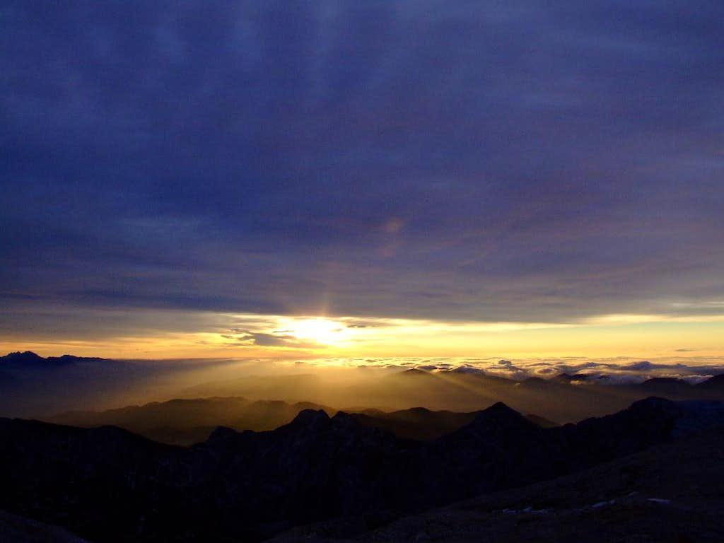 sunrise again