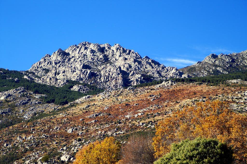 Las Torres de la Pedriza from the E-SE