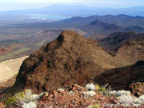 View from Redstone Peak