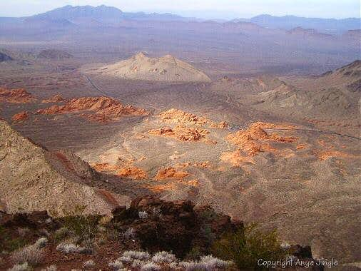 View of Redstone Dunes