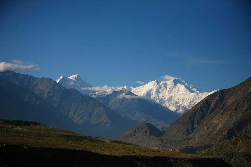 Nanga Parbat (8125m) as seen from Karakoram Highway