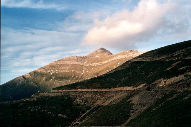 Northeast ridge- Col d\'Erroymendi
