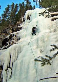 Upper Pitch of Folding Curtain - Near Jasper