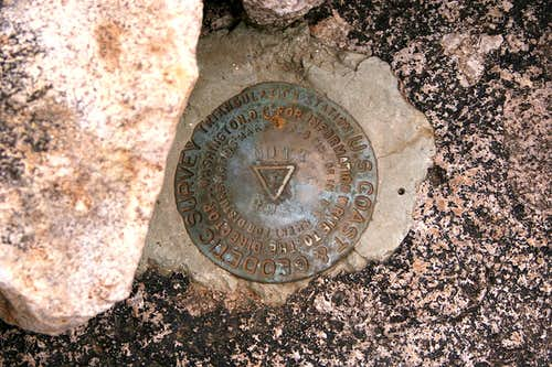 Nutt Mountain benchmark