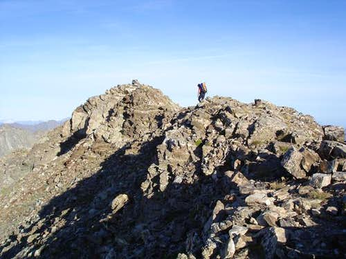 Summit of Lézat