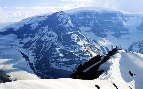 Nigel's Northwest Ridge and Snow Dome