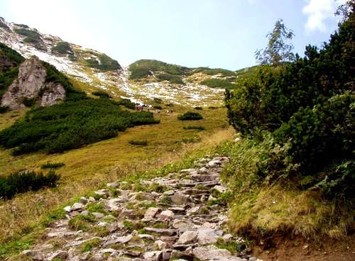 Mount Giewont Route