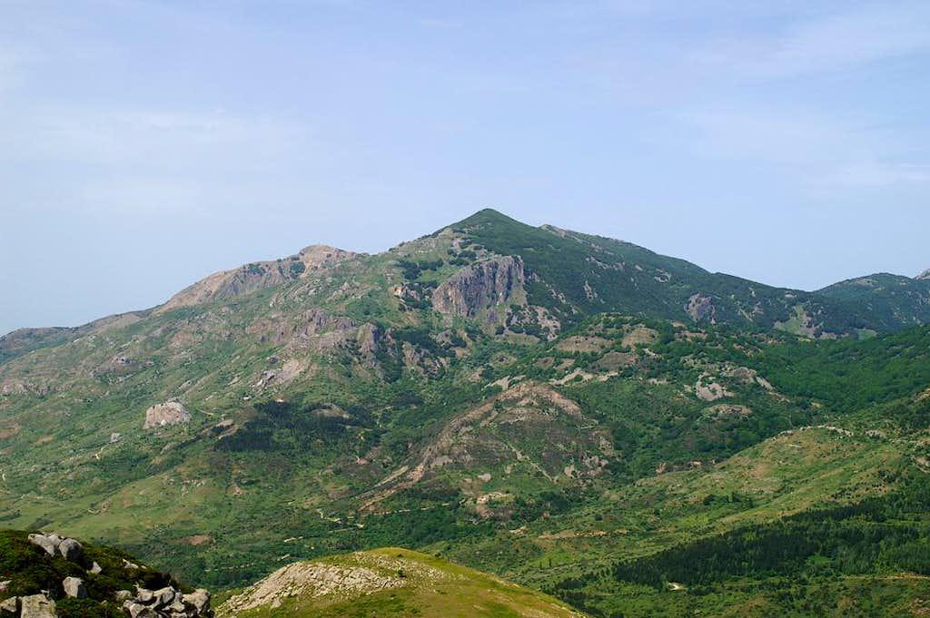 Madonna dell'Alto (1819m), Monte San Salvatore (1913m)